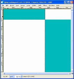 White content area box