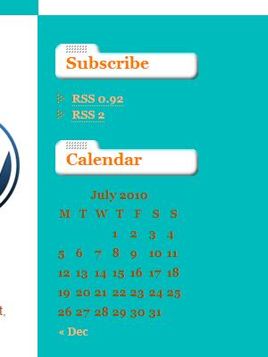 Unstyled calendar