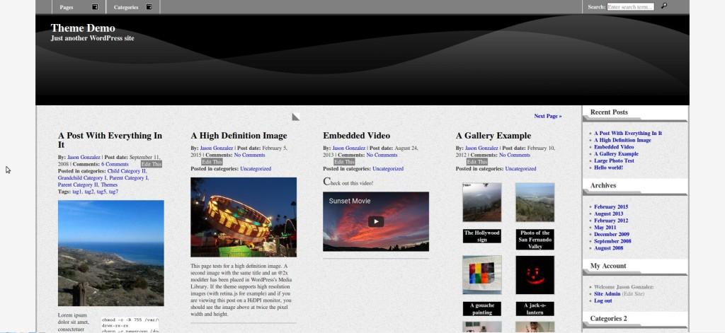 JGD-BizElite responsive magazine layout