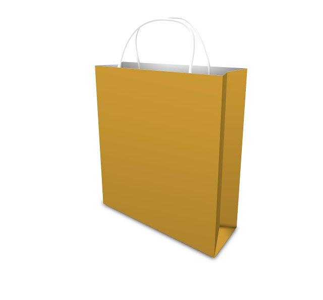 Image of brown shopping bag