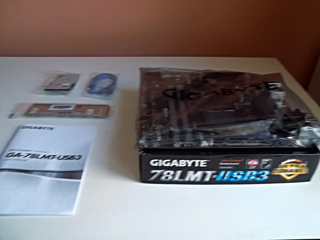 Most of the box's contents